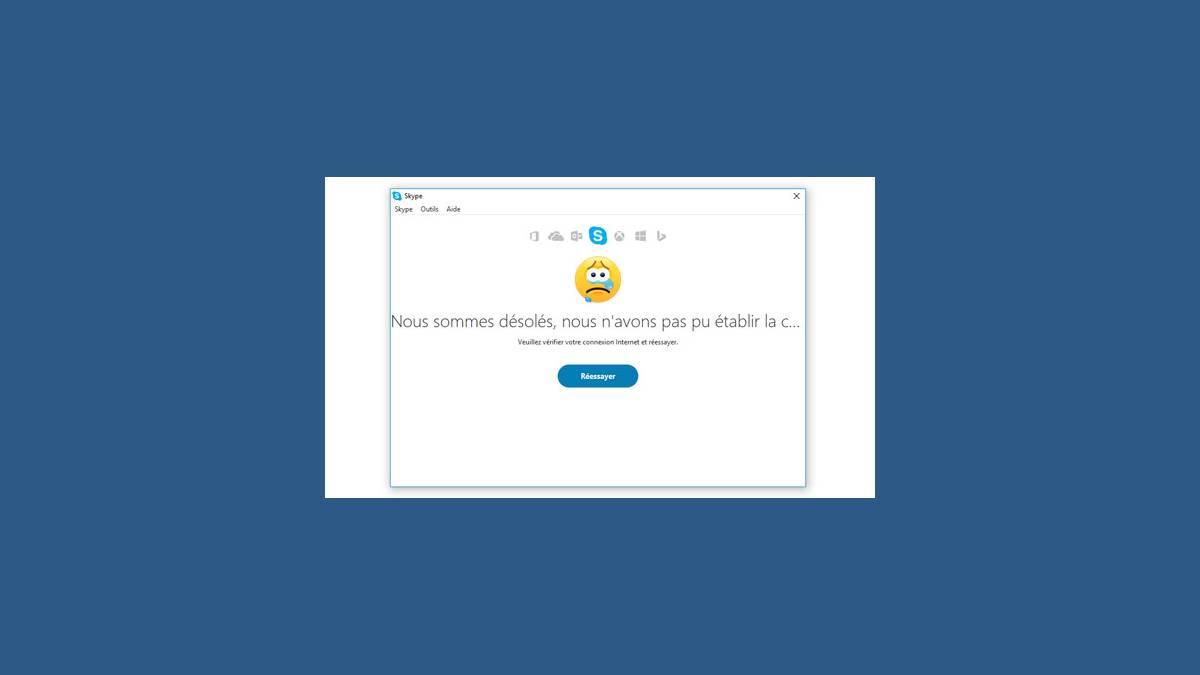 Panne de Skype en France