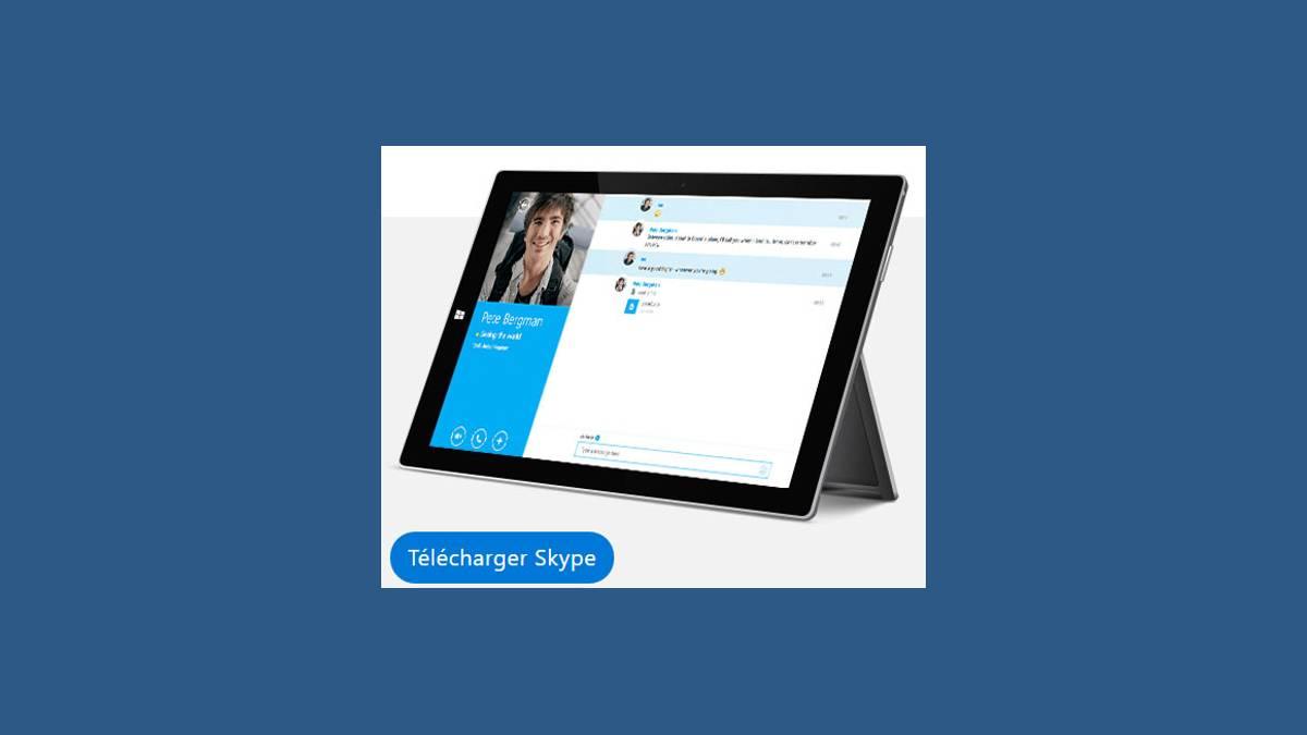 Télécharger Skype pour Bureau