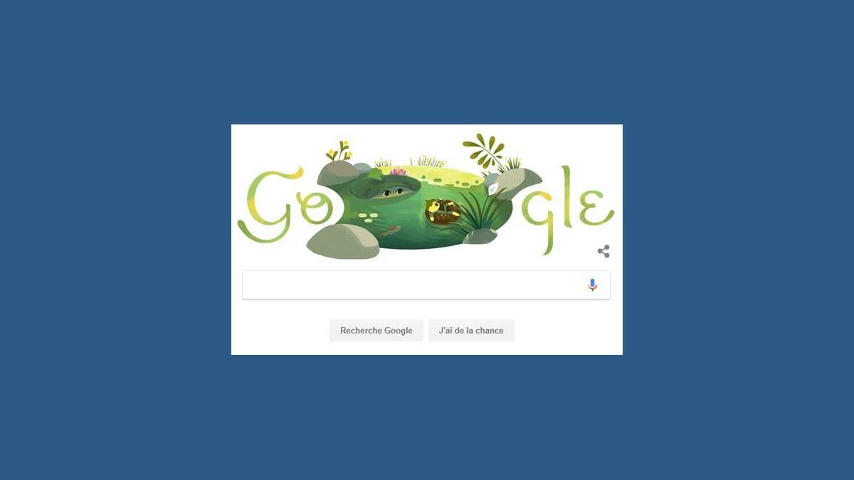 Doodle Google Solstice d'été 2018