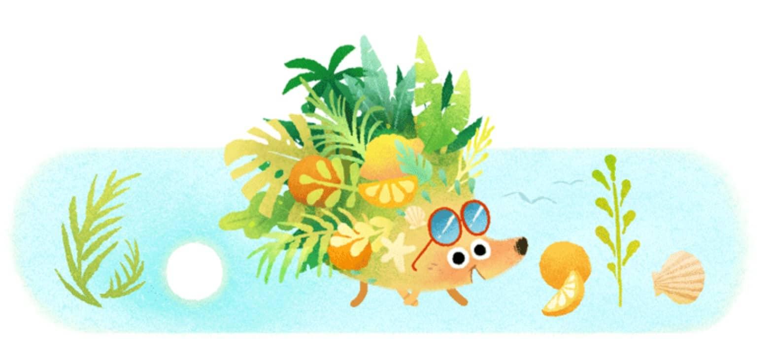 Bel été 2021 - Doodle Google Solstice d'été 2021