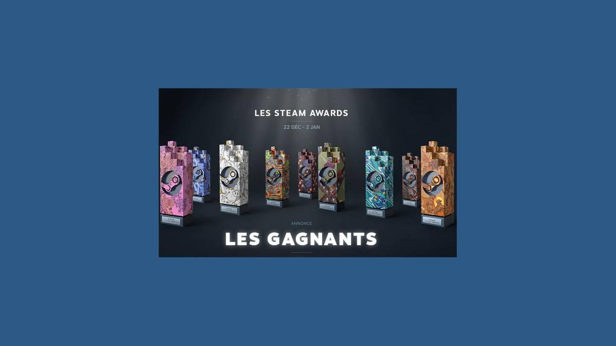 Les trophées Steam Awards 2016