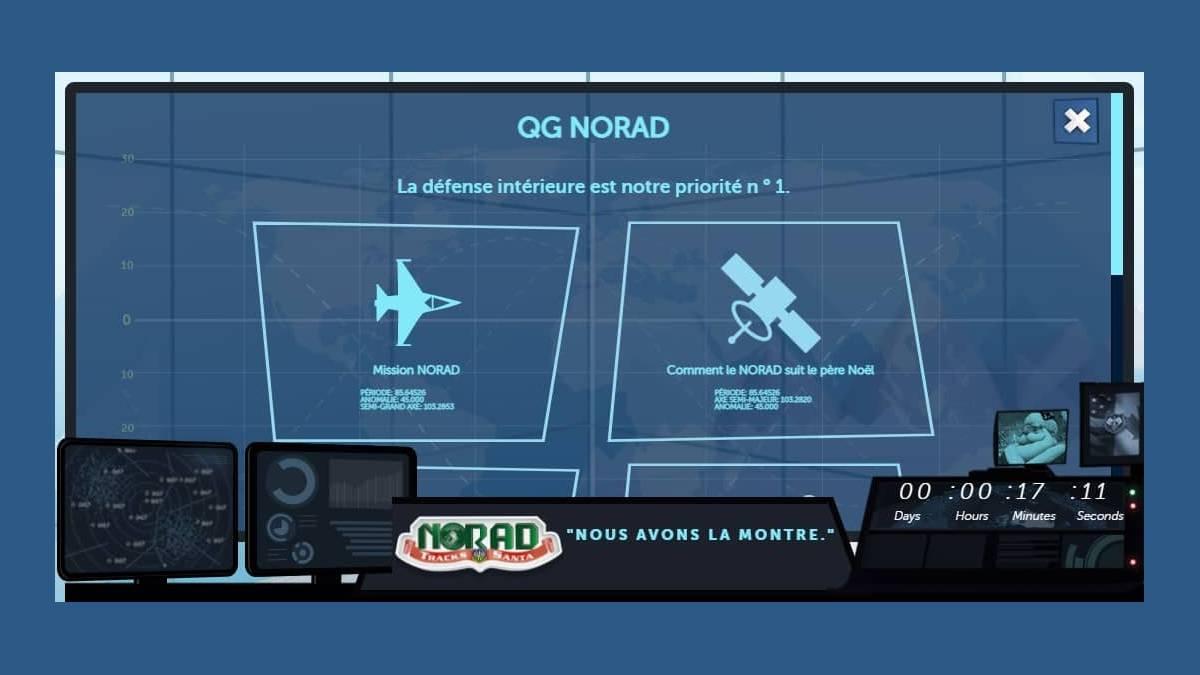 Norad et Google Earth - suivez le Père Noël à la trace