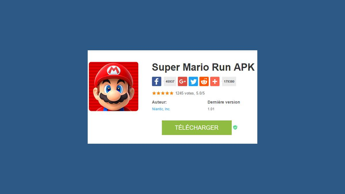 Super Mario Run APK (capture)