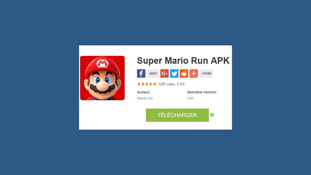 Super Mario Run APK (capture)