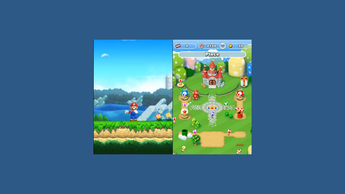 Captures Super Mario Run iOS