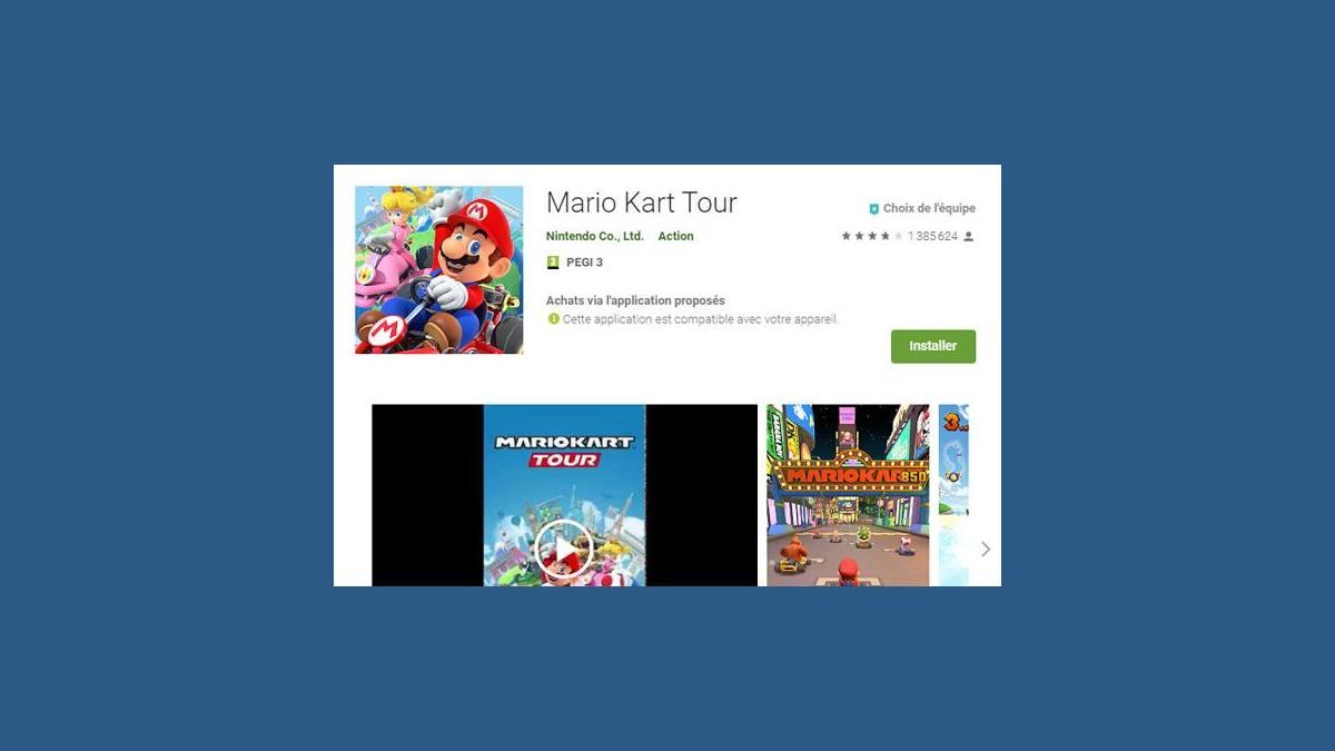 Télécharger Mario Kart Tour Android et iOS