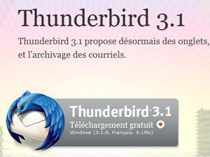 La mise à jour de mozilla thunderbird n'a pas pu être installée