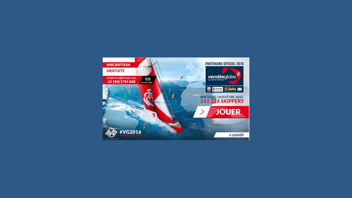 Vendée Globe 2016 sur Virtual Regatta