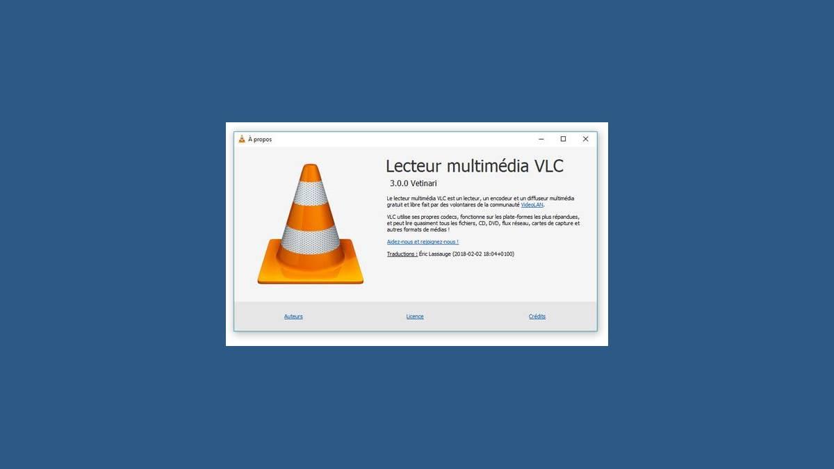 Capture VLC 3.0 Vetinari sur Windows