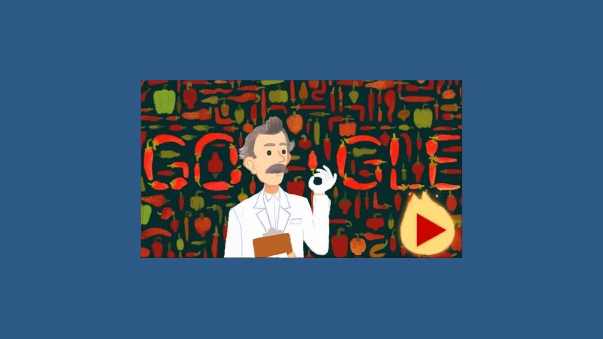 Google et son Doodle Wilbur Scoville