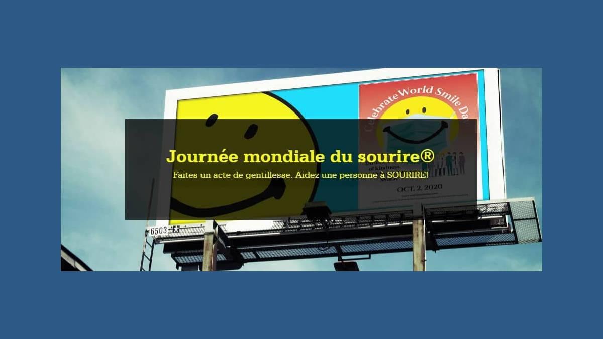 Smiley Stamp - journée mondiale du sourire octobre 2020