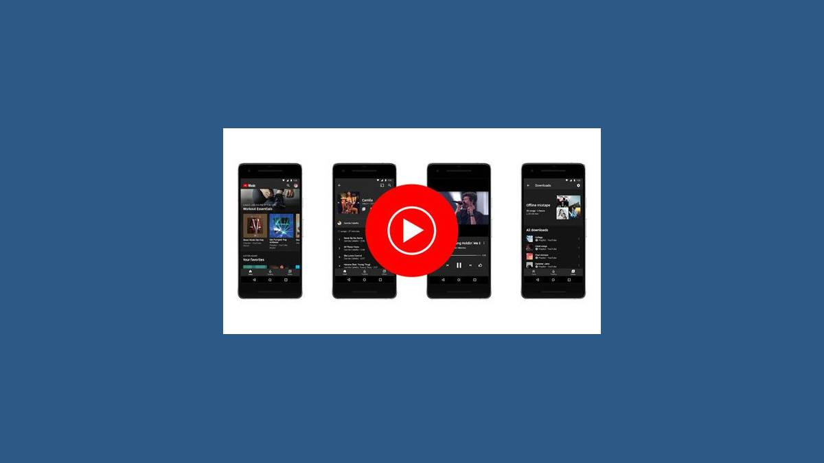 YouTube Music sur Smartphone