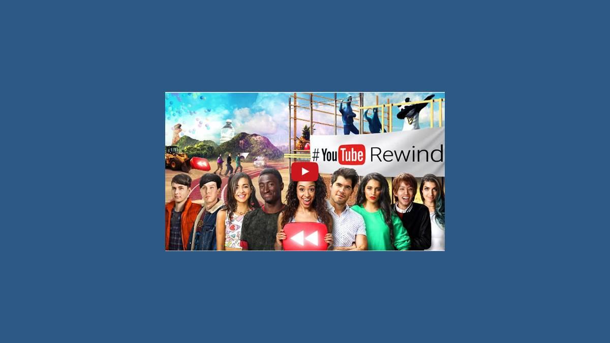 Vidéo Youtube Rewind 2016