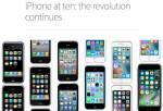 Iphone 10 ans - Ceci est une révolution