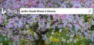 Bing : le « jardin de Claude Monet » à Giverny