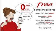 Offre Vente-privée Free Mobile 0,99 €