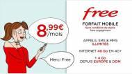 Offre Vente-privée Free Mobile Veepee 8,99 € à vie