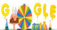 Anniversaire Doodle Google 19 ans