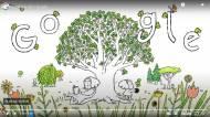 Doodle YouTube Journée de la Terre
