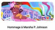 Doodle, Google, militante LGBT, Marsha P. Johnson