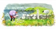 Doodle St. Patrick's Day Irlandais