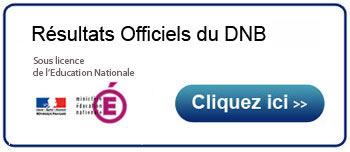 résultats DNB 2013