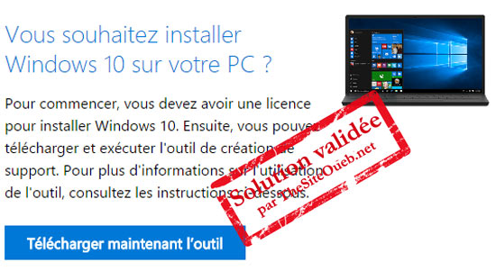 Télécharger DVD Windows 10