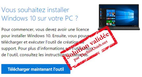 Télécharger DVD Windows 10