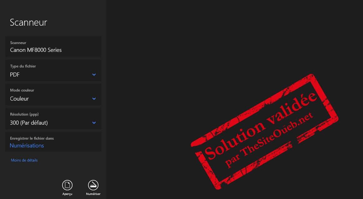 Scanneur PDF Windows du Microsoft Store