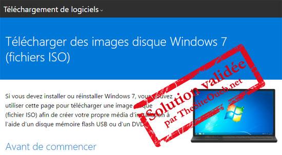Télécharger Windows 7